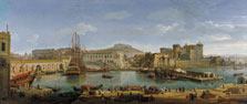 The Darsena, Naples, Gaspar van Wittel