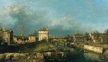 Porta Portello, Padua,  Canaletto