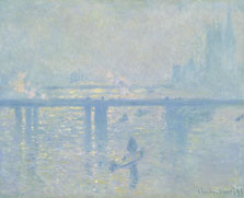 El puente de Charing Cross, Claude Monet