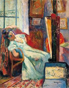 Model Resting, Henri Manguin