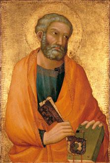 St. Peter, Simone Martini