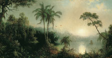 Sunrise in Nicaragua, Martin Johnson Heade