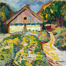 House on the Kuhrische Nehrung, Max Pechstein