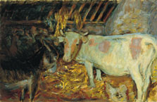 The Barn (Cow in the Stable), Pierre Bonnard