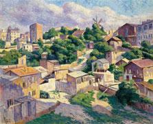 Matorral, Montmartre, Maximilien Luce