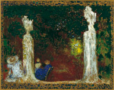 Beneath the Trees, Édouard Vuillard