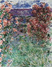 The House among the Roses, Claude Monet