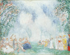 Jardin d'amour, James Ensor