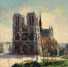 View of Notre-Dame, Paris, Gustave Loiseau