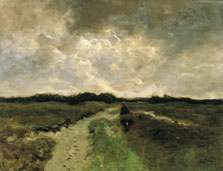 Crossing the Heath, Anton Mauve