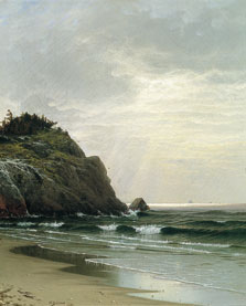 Día nublado, Alfred Thompson Bricher