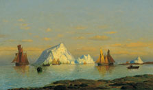 Pescadores en la costa de Labrador, William Bradford