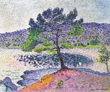 Playa, efecto de tarde, Henri-Edmond Cross