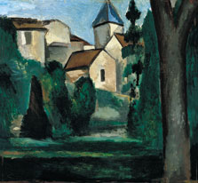The Church in Chatou, André Derain