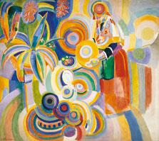 Portuguese Woman (Tall Portuguese Woman), Robert Delaunay