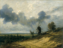 Landscape with Mill, Georges Michel
