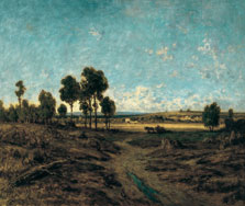View of the Plain of Montmartre, Théodore Rousseau