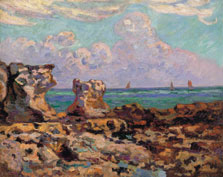 Saint-Palais-la-Pierrière. Low Tide, Armand Guillaumin