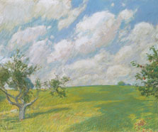 September Clouds, Childe Hassam