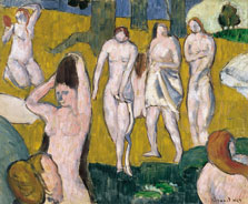 Women Bathing, Emile Bernard