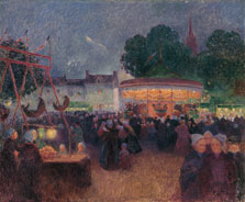 Night Fair at Saint-Pol-de-Léon, Ferdinand Du Puigaudeau