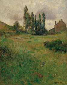 Dogs Running in a Meadow, Paul Gauguin