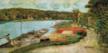 The Seine at Vernon, Pierre Bonnard