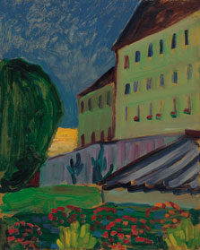 School House, Murnau, Gabriele Münter