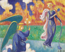 The Annunciation, Emile Bernard
