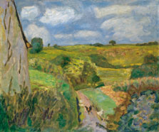 The dipping Path, Pierre Bonnard