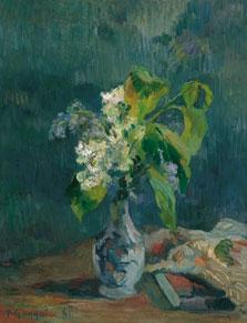 Lilacs, Paul Gauguin