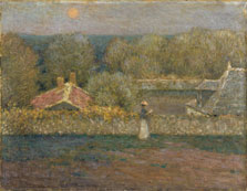 An Autumn Evening, Henri Le Sidaner