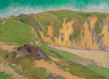 The Cliffs at Le Pouldu, Emile Bernard