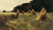 The Harvesters, Léon-Augustin Lhermitte