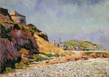 Port-en-Bessin, la playa, Paul Signac
