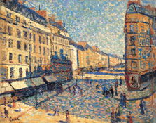 Street of Paris, Maximilien Luce