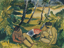 The Bathers, Max Pechstein