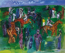 At the Races, Raoul Dufy