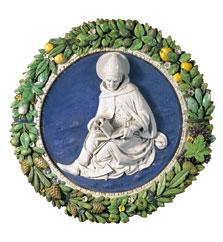 San Agustín, Andrea Della Robbia