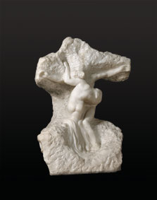 Christ and Magdalen,  Auguste Rodin
