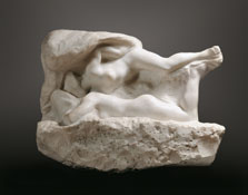 The Dream (The Angel's Kiss),  Auguste Rodin