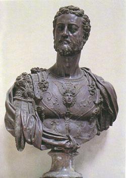 Busto de Cosme I de Médicis