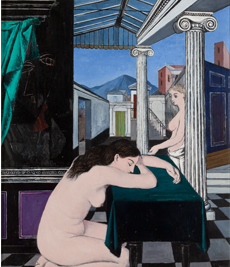 More information of Paul Delvaux: A Walk with Love and Death