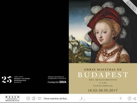Resultado de imagen de obras maestras de budapest thyssen