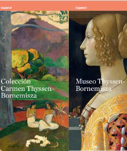 portada del folleto del museo